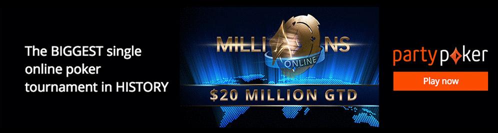 party poker million